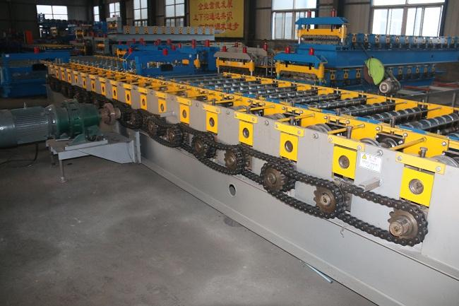 Galvanized Changeable Cable Tray Roll Forming Machine With Fully Automatic Perforated