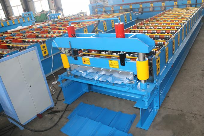 Galvanize Aluminium Iron Color Steel Roll Forming Machine 8-12/Min Working Speed