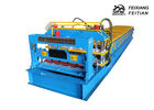 China 2 - 5m/Min Speed Glazed Tile Roll Forming Machine For Building Material factory