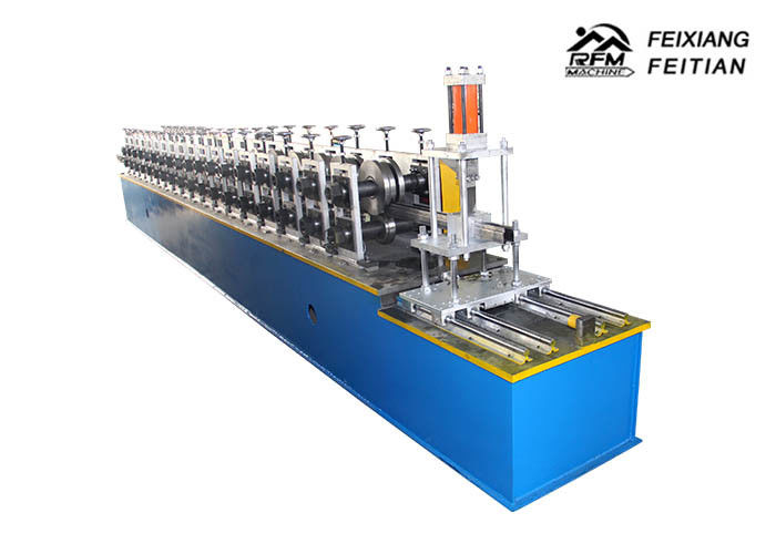 Rack Shelves Pillar Cable Tray Roll Forming Machine PLC Control For Shopping Market