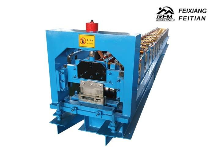 Steel Door Frame Making Machines , Metal Frame Rolling Shutter Roll Forming Machine
