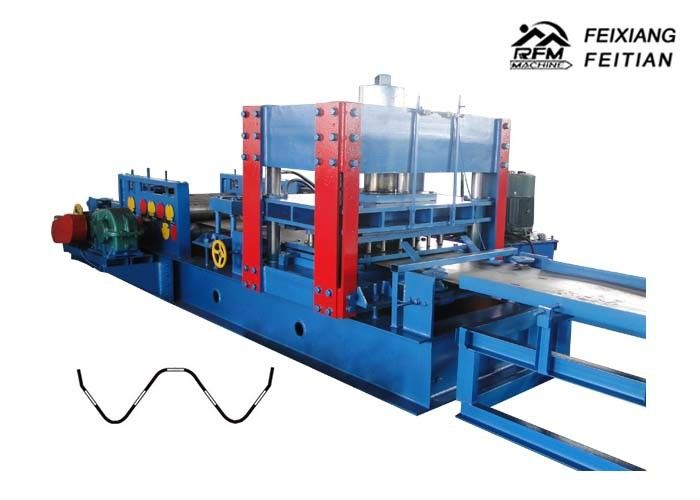 Professional Highway Guardrail Roll Forming Machine FX 350 For Protection