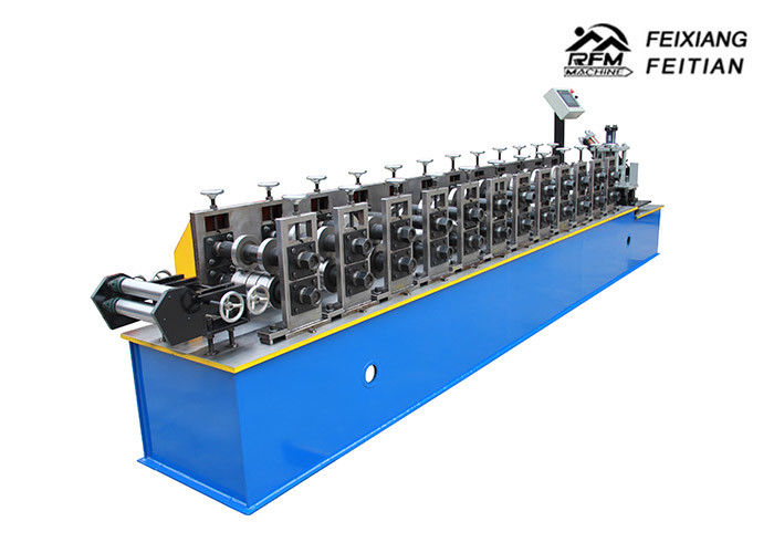 U / C Stud Roll Forming Machine , Galvanized Steel Stud Roll Forming Machine