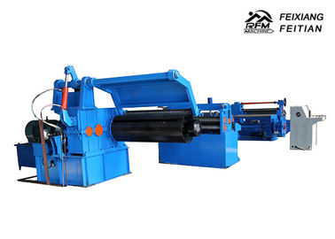 China FX3-1250mm Metal Steel Coil Slitting Line , Sheet Metal Shearing Machine For Uncoiling factory