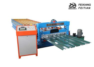 China Dast Speed Sheet Metal Roll Forming Machines 50HZ For Roof / Wall / Workshop factory