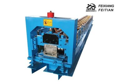 China Steel Door Frame Making Machines , Metal Frame Rolling Shutter Roll Forming Machine factory