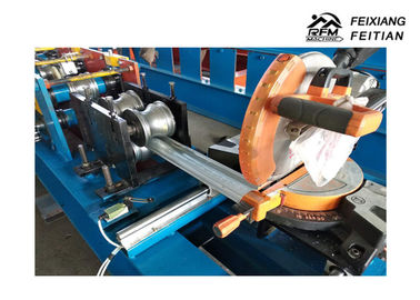 China Popular Metal Roofing Roll Former , Steel Garage Door Roll Forming Machine factory