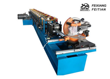 China Automatic Steel Rolling Shutter Slats Roll Forming Machine With 0.3 - 0.8mm Thickness factory