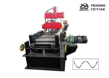 China High Efficient Highway Guardrail Roll Forming Machine Two Waves ISO Approved factory