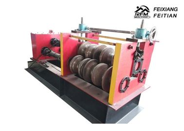 China Highway Guardrail Automatic Roll Forming Machines , Sheet Metal Crimping Machine factory