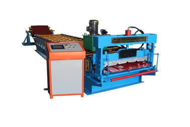 China High Frequency IBR Sheet Roll Forming Machine , Steel Metal Roof Tile Making Machine factory